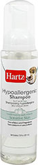 Hypoallergenic Shampoo <p><strong>From the Manufacturer: </strong></p><p><strong></strong>Hartz Hypoallergenic Shampoo for Dogs & Cats is gentle, fragrance free, and easy on your pet's sensitive skin. This rich foam makes it easy and gentle to apply. Rinse clean without any residue, leaving a clean and fresh healthy coat.</p> 7.5 oz Shampoo  $3.89