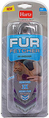 Fur Fetcher for Cats <p><strong>From the Manufacturer:</strong></p><p><strong></strong>Hartz Groomer's Best Fur Fetcher for Cats is uniquely designed with microcombs to remove loose hair and undercoat with out damaging or cutting fur while leaving your pet's coat healthy and shiny.<br /></p> 1 Each  $15.99