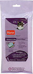 Groomer's Best Quick Wipes for Cats <p><strong>From the Manufacturer:</strong></p><p><strong></strong>Hartz Groomer's Best Quick Wipes for Cats are pre-moistened cloths that effectively clean away dirt, dander, and tear stains while soothing skin with Vitamin E and Aloe. Perfect for daily use between baths.</p> 16 Wipes  $5.84