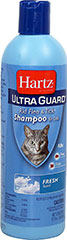 UltraGuard Rid Flea & Tick Shampoo <strong>From the Manufacturer: </strong>Hartz Ultra Guard Rid Flea & Tick Shampoo for Cats effectively kills fleas and ticks. For use on kittens 12 weeks of age or older. 12 oz Shampoo  $7.99