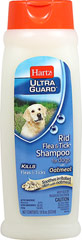 UltraGuard Rid Flea & Tick Shampoo with Oatmeal <p><strong>From the Manufacturer: </strong></p><p>Hartz Ultra Guard Rid Flea & Tick Shampoo with Oatmeal for Dogs effectively kills fleas and ticks plus contains Oatmeal to soothe dry, irritated skin. For use on puppies 6 months of age or older.</p> 18 oz Shampoo  $8.99
