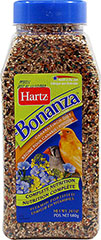 Bonanza Canary & Finch Diet <p><strong>From the Manufacturer: </strong></p><p>Hartz Bonanza Canary & Finch Diet is scientifically-formulated to meet the nutritional needs delivering the right blend of delicious ingredients, it ensures optimal consumption which aids in providing complete nutrition.</p> 24 oz Container  $7.99