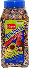 Bonanza Parrot Diet <p><strong>From the Manufacturer: </strong></p><p>Hartz Bonanza Parrot Diet is scientifically-formulated to meet the nutritional needs delivering the right blend of delicious ingredients, it ensures optimal consumption which aids in providing complete nutrition.</p> 18 oz Container  $7.99