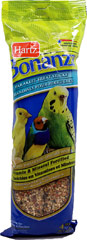 Bonanza Parakeet Vanilla Honey Nut Treat Sticks <p><strong>From the Manufacturer: </strong></p><p>Hartz Bonanza Parakeet Honey Vanilla Treat Sticks are a unique treat of blended fruits, vegetables, seeds, and grains that your parakeet will love. These healthy snacks are specifically formulated for parakeets to help maintain optimum health and vitality.</p> 4 Pack  $8.99