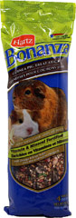 Bonanza Guinea Pig Diet <p><strong>From the Manufacturer: </strong></p><p><strong></strong>Hartz Bonanza Guinea Pig Diet is scientifically-formulated to meet the nutritional needs delivering the right blend of delicious ingredients, it ensures optimal consumption which aids in providing complete nutrition.</p> 22.5 oz Container  $2.99