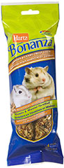 Bonanza Hamster & Gerbil Peanut Butter Treat Sticks <p><strong>From the Manufacturer: </strong></p><p>Hartz Bonanza Hamster and Gerbil Peanut Butter Treat Sticks are full of tasty fruits, vegetables, seeds, and grains that your hamster or gerbil will love. This healthy snack is formulated for your hamster or gerbil's specific tastes and to help maintain optimum health and vitality.</p> 4 Pack  $8.99
