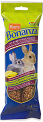 Bonanza Pet Rabbit Banana Berry Treat Sticks <p><strong>From the Manufacturer: </strong></p><p>Hartz Bonanza Pet Rabbit Berry Treat Sticks are full of tasty fruits, vegetables, seeds, and grains that your rabbit will love. This healthy snack is formulated for your Rabbit's specific tastes and to help maintain optimum health and vitality.</p> 4 Pack  $8.99