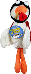 Stunt Pilots Chicken Plush Toy <p><strong>From the Manufacturer:</strong></p><p><strong></strong>Hartz Stunt Pilots Dog Toys are slingshot interactive plush toys. Just grab chin strap loop, pull and release as they soar with motion activated sounds.</p> 1 Each  $11.99