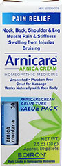Arnicare Cream/MDT Value Pk  2.5 oz Cream  $11.99