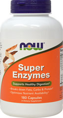 Super Enzymes  180 Capsules  $18.99