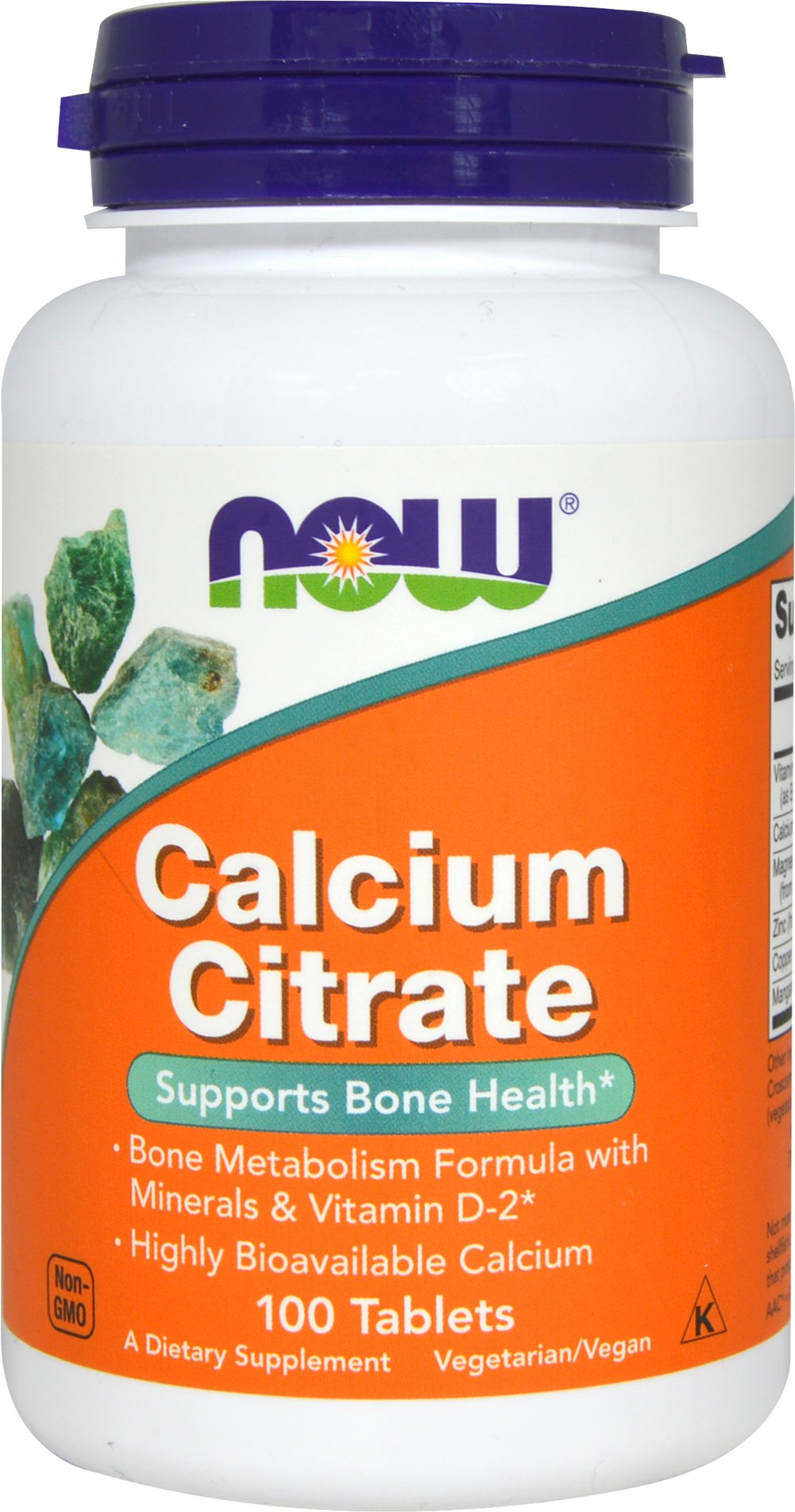 Calcium Citrate Complex  100 Tablets  $4.99