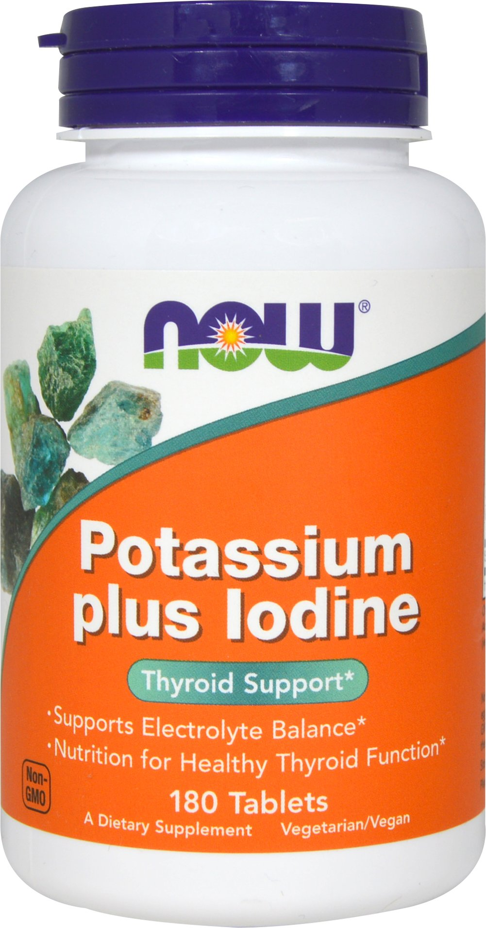 Potassium plus Iodine  180 Tablets  $6.49