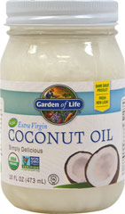 Extra Virgin Coconut Oil <p><strong>From the Manufacturer's Label:</strong></p><ul><li>100% Organis</li><li>Delicious Flavor</li><li>No GMOs</li><li>Vegetarian</li></ul><p>Manufactured by Garden of Life</p> 16 oz. Oil