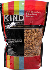 Dark Choc & Cranberry Clusters <p><strong>From the Manufacturer:</strong></p><p>From the company that makes the most delicious nutrition bars, Kind Healthy Grains are made with 100% whole grains with ingredients you can see and pronounce!<strong></strong></p><ul><li>3g Fiber<br /></li><li>100% Whole Grains (16g Amaranth, Quinoa, Oats, Millet, and Buckwheat)</li><li>Gluten-Free</li><li>All Na