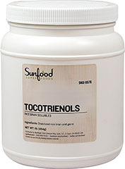 Tocotrienols Bran Soluables <p><strong>From the Manufacturer:</strong></p><p><strong></strong>Tocotrienols is a balanced whole food that provides a stable variety of essential nutrients necessary to properly fuel a healthy body. Providing a full protein complement, this rice bran whole-food complex is highly beneficial for those who require a gentle boost to their nutritional protocol.</p><p>Vitamin E is an essential nutrient. An essential nu