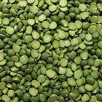 Organic Green Split Peas <p>When fresh peas are not available or when you want to enjoy a hardier flavored legume, dried peas are the perfect choice. <br /></p><ul><li>Use split peas to make Dahl, the classic Indian dish</li><li>Make split pea soup, it's a delicious way to enjoy this nutritious legume</li><li>Puree cooked peas with your favorite herbs and spices and serve as a side dish</li><li>Add to vegetable soups</li&gt