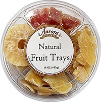 Natural Fruit Gift Tray <p>This fruit platter is great to bring as a gift or to serve to your guests. It is also the perfect combination of the most popular fruit we offer. </p><p>Contains an assortment of the following:</p><ul><li>Pineapple</li><li>Mango</li><li>Ginger Slices</li><li>Papaya - a tropical delight!</li></ul> 16 oz Container  $9.99