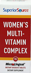 Women'S Multi-Vitamin Complex  90 Tablets  $16.99