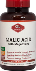 Malic Acid With Magnesium  90 Capsules 1.5 gram/300 mg $13.99