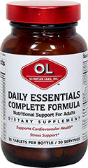 Daily Essentials  30 Tablets  $11.99
