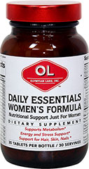 Daily Essentials  Women's Formula  30 Tablets  $8.99