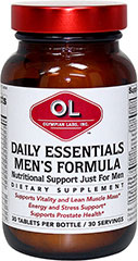Daily Essentials  Men's Formula  30 Tablets  $14.29