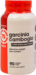 Garcinia Cambogia  Extract with White Kidney Bean <strong>From Manufacturer's Label:</strong><br /><br />Garcinia Cambogia Extract 50% Hydroxycitric Acid (HCA) with White Kidney Bean Extract.<br /><br />Contains 90 veggie capsules.<br /><br />Manufactured by Top Secret Nutrition. 90 Vegi Caps  $16.99
