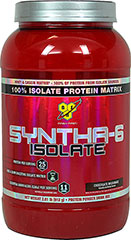 Syntha 6 Iso Chocolate Ultra Premium Protein Dietary Supplement <br /><br />• Nutrition** <br />• Lean Muscle** <br />• Definition** <br />• Weight Management** <br /><br />Designed for individuals who want an ultra-premium protein powder that  will help them reach their nutritional and physical goals. These  products are free of aspartame and come in the following flavors  chocolate, vanilla, strawberry, cookies n creme, banana and mochaccino. 						&lt