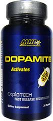 Dopamite <p><strong>From the Manufacturer's Label:</strong></p><p>Dopamite is manufactured by MHP.</p> 30 Tablets  $13.99