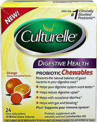 Culturelle® Digestive Health Probiotic Chewables  24 Tablets  $21.99