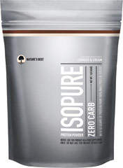 Isopure Zero Carb Whey Protein Isolate Cookies & Cream <p><strong>From the Manufacturer's Label:</strong><br /><br />50 grams of 100% pure whey protein isolate and not a carb in sight.  And it still comes with glutamine and nutrients, but no lactose or impurities, so it's easy to drink.<br /><br />Manufactured by Nature's Best.</p><p></p><p></p> 1 lb Powder  $15.99
