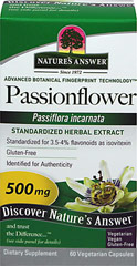 "Passion Flower Extract 250 mg <p><strong>From the Manufacturer's Label:</strong><br /></p><ul><li>Flowering Tops Extract </li><li>Promotes Tranquility**</li><li>Standardized Herbal Supplement</li><li>Once Daily<br /></li></ul><p>Passionflower (Passiflora incarnate) has often been called the ""harried business person's herb"" to support relaxation. <br /><br />Manufact"