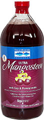Ultra Mangosteen with Goji and Pomegranate <p><strong>From the Manufacturer's Lab</strong><strong>el:</strong></p><ul><li>A Powerful Antioxidant Formula</li><li>Supercharged with ConcenTrace®</li><li>GMO Free </li><li>No Added Preservatives</li><li>Certified Vegan</li><li>Gluten Free<br /></li></ul><p>Ultra Mangosteen is a dietary supplement that offers sev