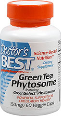 Green Tea Phytosome  60 Vegi Caps 150 mg $9.49