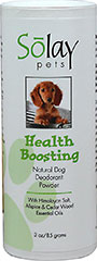 Health Boosting Dog Deodorant Powder  3 oz Powder  $9.85