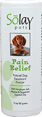 Pain Relief Dog Deodorant Powder  3 OZ Powder  $9.85