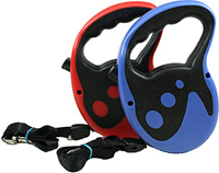 Comfort Grip Retractable 13ft Belt Leash <p><strong>From the Manufacturer:</strong></p><p>Ruffin' it Comfort Grip Retractable 13ft Belt Leash has been engineered and designed to help lead your dog.  Used for Dogs up to 110lbs. Comes in Blue or Red.  Please note color can not be specified.</p>  1 Each  $15.57