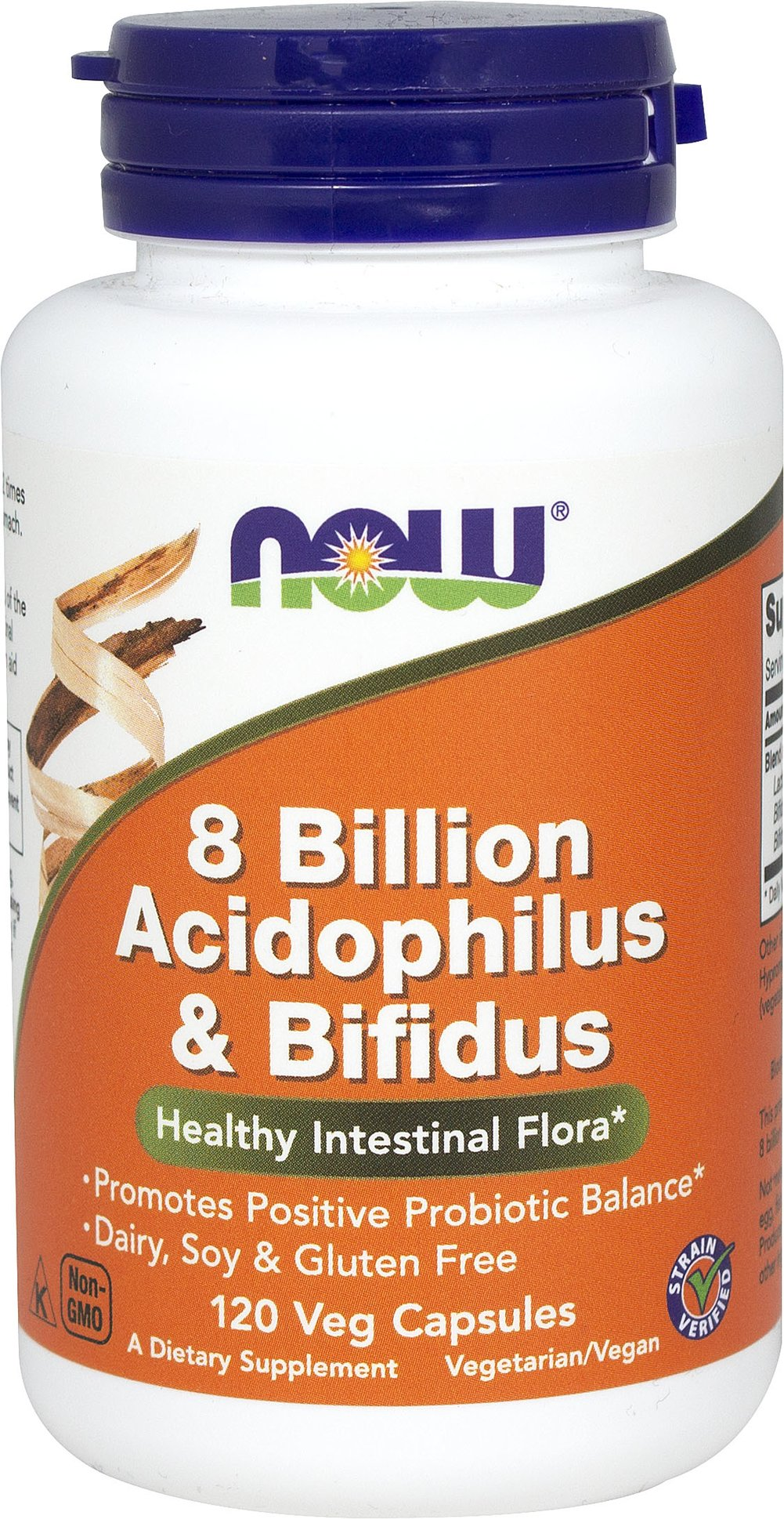 Acidophilus/Bifidus 8 Billion  120 Capsules 8 billion $13.99