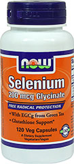 Selenium with EGCG  120 Capsules  $9.59