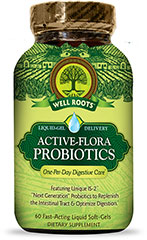 Active-Flora Probiotics  60 Softgels  $20.99