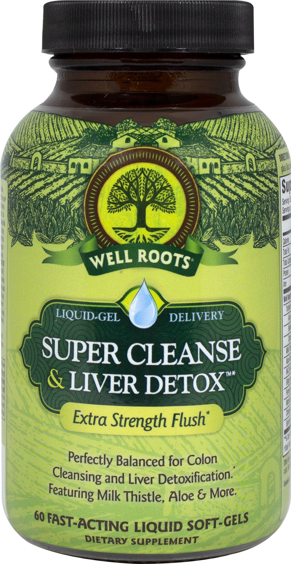 Colon Cleanse & Liver Detox  60 Softgels  $15.99