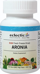 Fresh Freeze-dried Aronia  90 Vegi Caps 450 mg $14.99