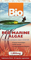 RED MARINE ALGAE  1000 MG  60 Capsules 1000 mg