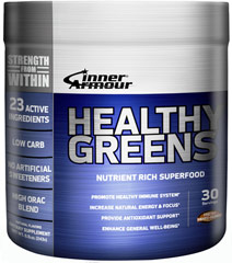 Healthy Greens Mixed Berry <p><strong>From Manufacturer's Label:</strong><br /><br />Healthy Greens Nutrient Rich Superfood<br /></p><ul><li>Promotes healthy immune system**</li><li>Increase natural energy & focus**</li><li>Provide antioxidant support**</li><li>Enhance general well-being**<br /></li></ul><p>Contains 30 servings.  Fresh Mixed Berry flavor.  <br />&lt