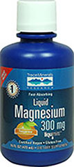 LIQUID MAGNESIUM - TANGERINE  16 oz. Liquid 300 mg $12.99