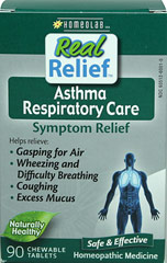 Asthma Respiratory Care Symptom Relief  90 Tablets  $7.99