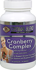 Cranberry Complex  30 Capsules 500 mg $12.99