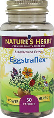 Eggstraflex™ Eggshell Membrane Joint Formula <p><strong>From the Manufacturer's Label:</strong><br /><br />Joint Health**<br /><br />Nature's Herbs EggstraFlex is an advanced formula that contains clinically tested natural eggshell membrane together with a proprietary blend of herbs traditionally used for joint health, all to help maintain healthy joints, support joint and muscle comfort and promote mobility and flexibility.**<br /><br />