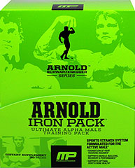 Iron Pack Alpha Male Training Packs  30 Packs  $42.99