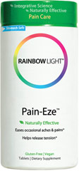 Pain-Eze™ with Corydalis, California Poppy, Meadowsweet <p><strong>From the Manufacture's Label:</strong></p><p>Pain-Eze is manufactured by Rainbow Light</p><p></p><p></p> 30 Tablets  $9.79
